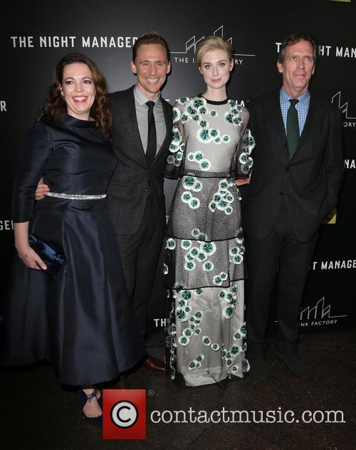 Olivia Coleman, Tom Hiddleston, Elizabeth Debicki and Hugh Laurie 9