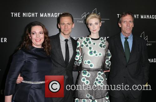 Olivia Coleman, Tom Hiddleston, Elizabeth Debicki and Hugh Laurie 10