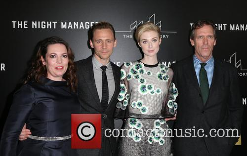 Olivia Coleman, Tom Hiddleston, Elizabeth Debicki and Hugh Laurie 11