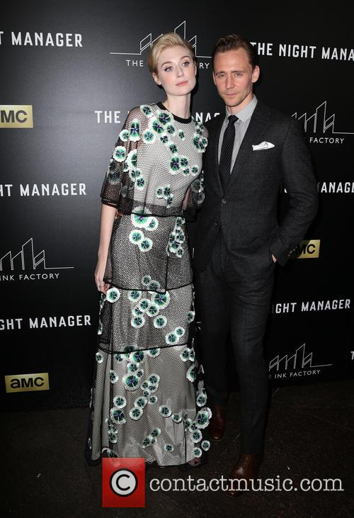 Elizabeth Debicki and Tom Hiddleston 1