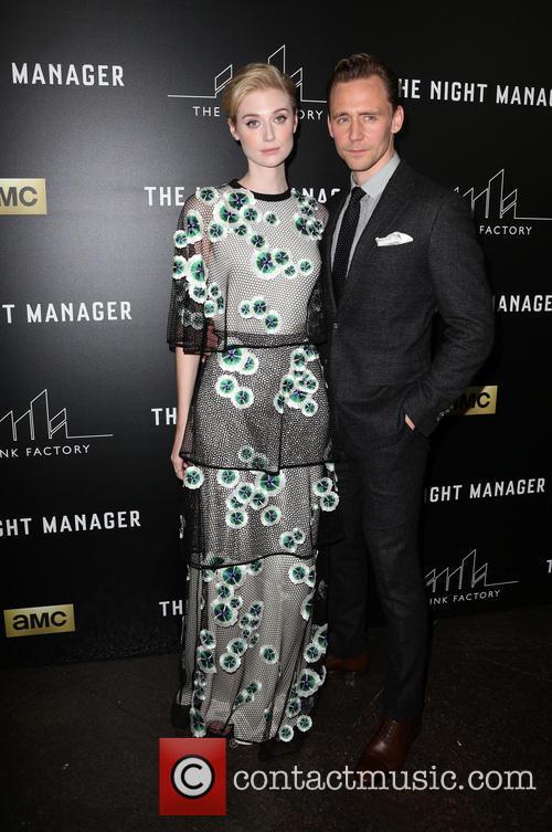 Elizabeth Debicki and Tom Hiddleston 2