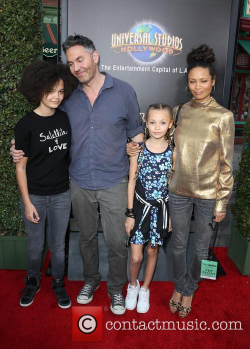 Thandie Newton, Ol Parker, Ripley Parker, Booker Jombe Parker and Nico Parker 3