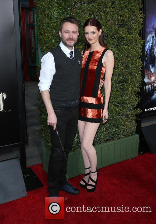 Chris Hardwick and Lydia Hearst 7