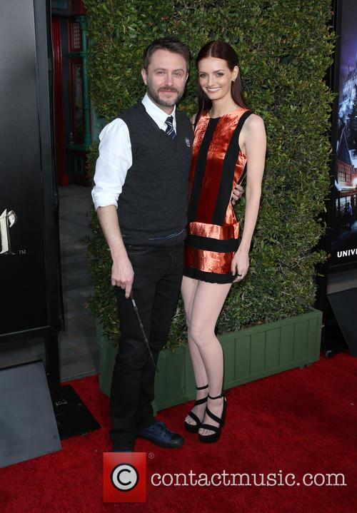 Chris Hardwick and Lydia Hearst 8