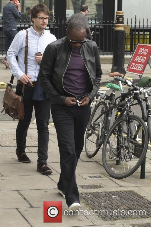 Don Cheadle seen leaving Kiss FM studios