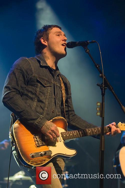 Brian Fallon performing at the O2 ABC