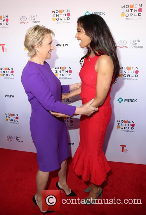 Tina Brown and Padma Lakshmi 3