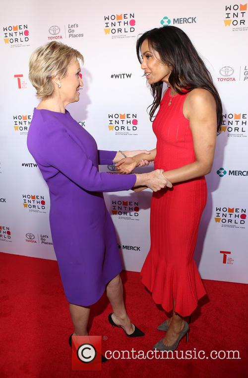 Tina Brown and Padma Lakshmi 4