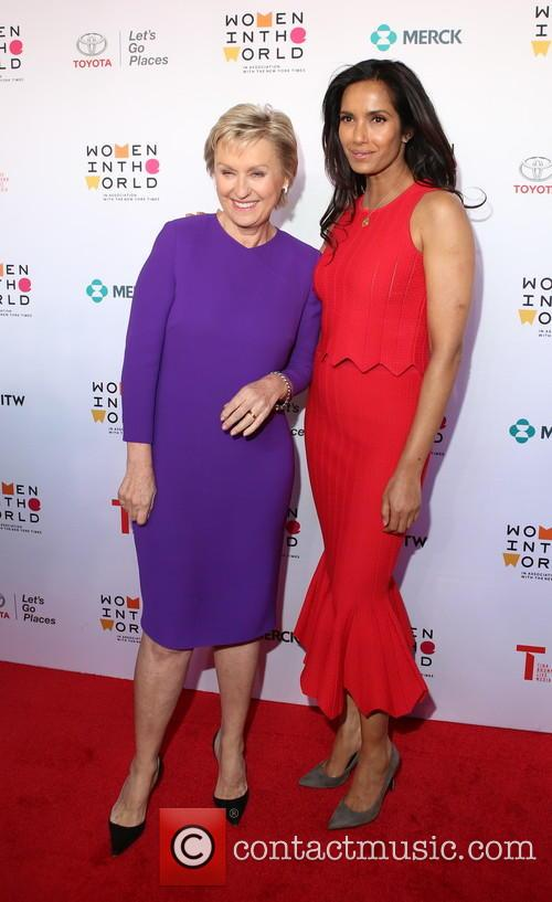 Tina Brown and Padma Lakshmi 5