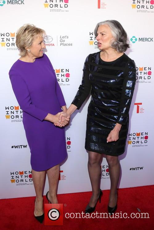 Tina Brown and Dr. Julie Gerberding 6