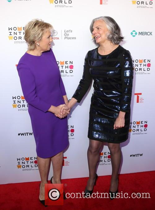 Tina Brown and Dr. Julie Gerberding 7