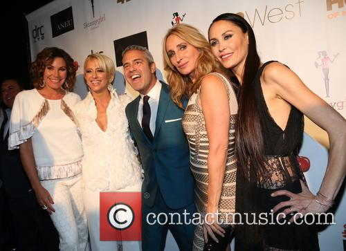 Luann De Lesseps, Dorinda Medley, Andy Cohen, Sonja Morgan and Julianne Wainstein