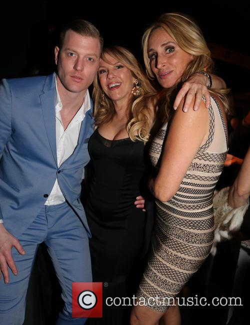 Robert Wayne, Ramona Singer and Sonja Morgan 1