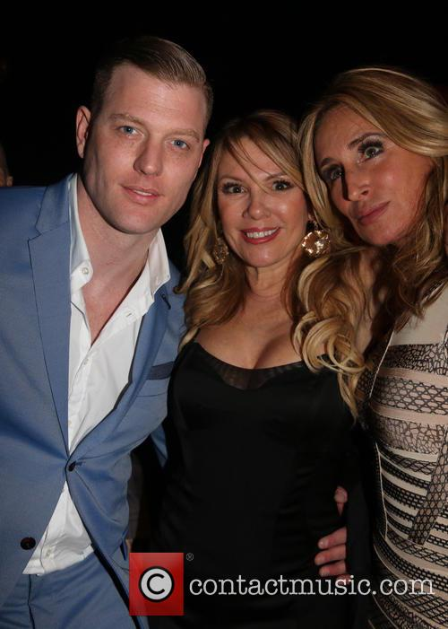 Robert Wayne, Ramona Singer and Sonja Morgan 3