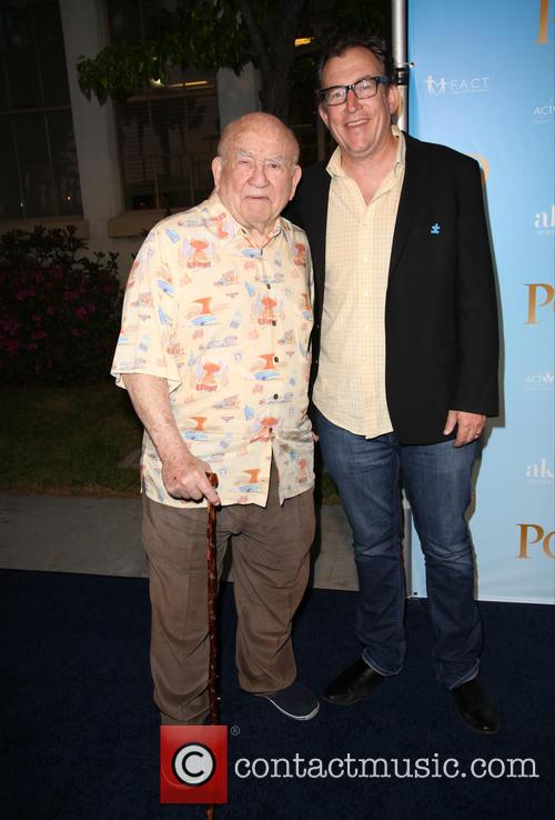 Ed Asner and Mathew Asner 2