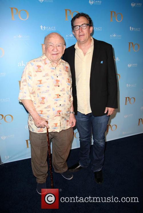 Ed Asner and Mathew Asner 3