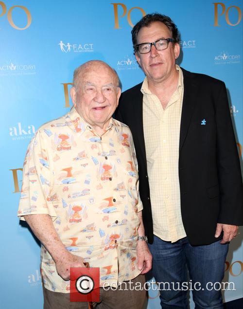 Ed Asner and Mathew Asner 4