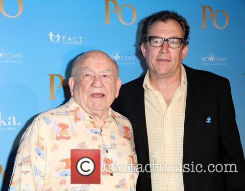 Ed Asner and Mathew Asner 5