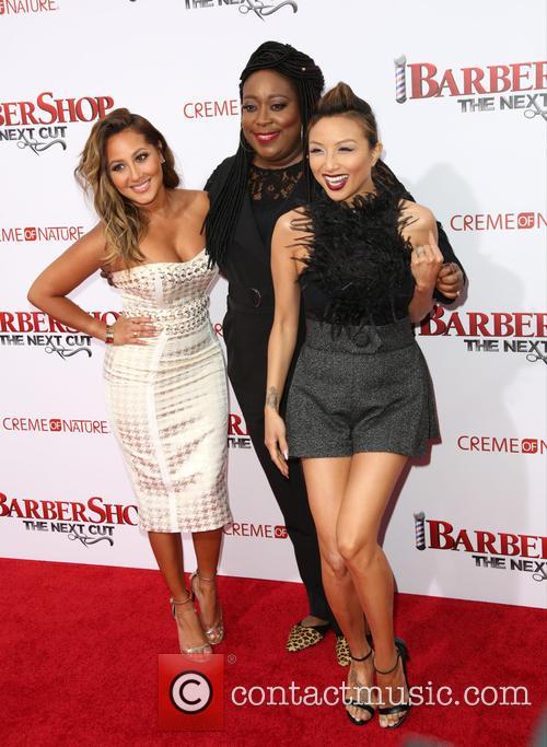 Adrienne Bailon, Loni Love and Jeannie Mai 10