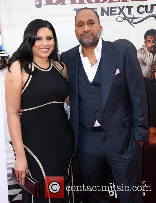 Tracy Oliver and Kenya Barris 2