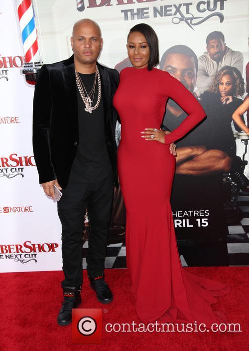 Stephen Belafonte and Melanie Brown 4