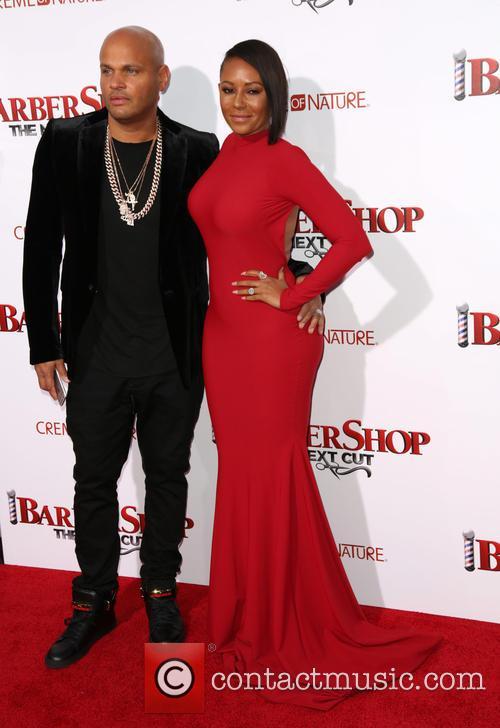 Stephen Belafonte and Melanie Brown 5