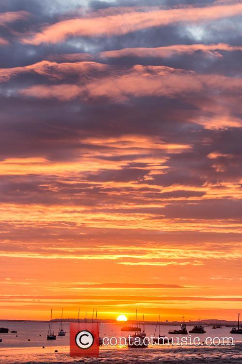 Beautiful Sunrise over the thames