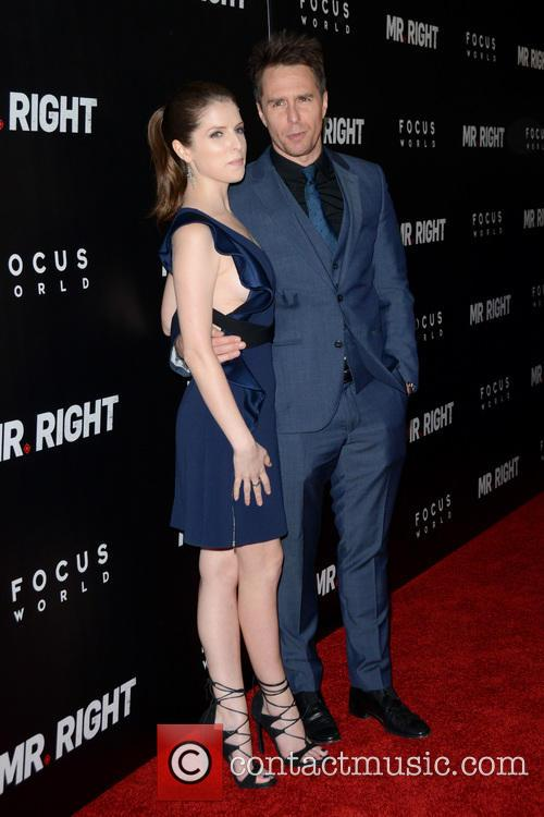 Anna Kendrick and Sam Rockwell 11