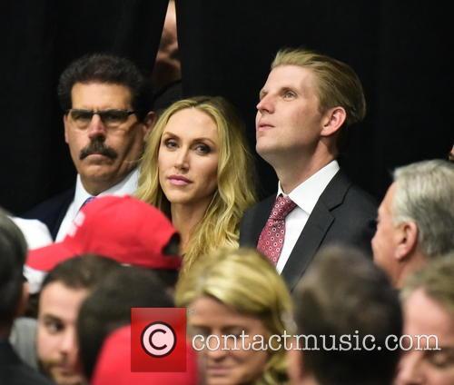Lara Trump and Eric Trump 4