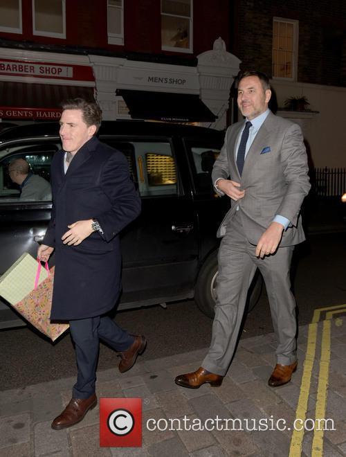 David Walliams and Rob Brydon
