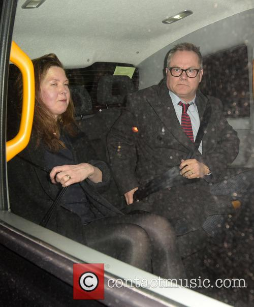 Celebrities outside the Chiltern Firehouse