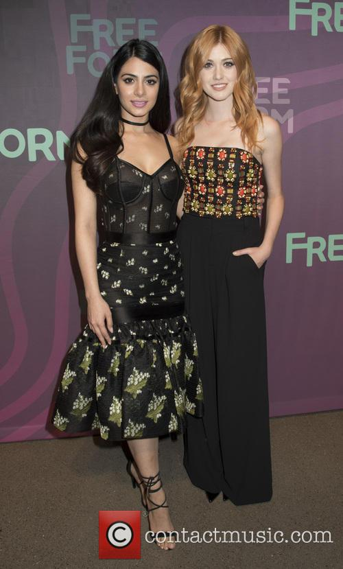 Emeraude Toubia and Katherine Mcnamara 8