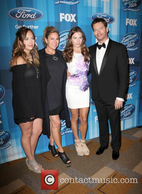 Sarah Connick, Jill Goodacre, Georgia Connick, Harry Connick and Jr. 2