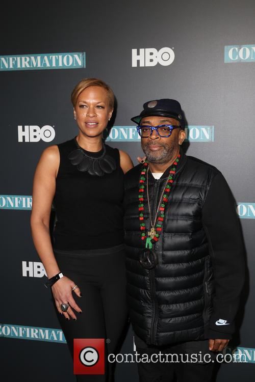 Tonya Lewis Lee and Spike Lee 1