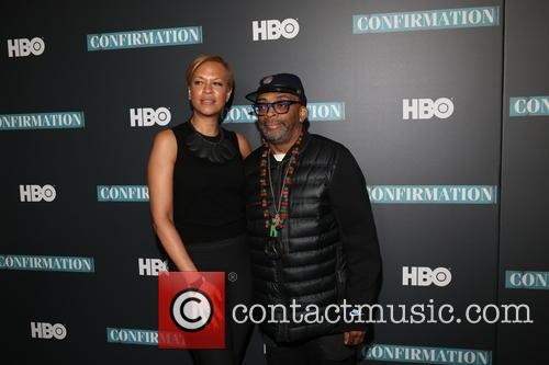 Tonya Lewis Lee and Spike Lee 4