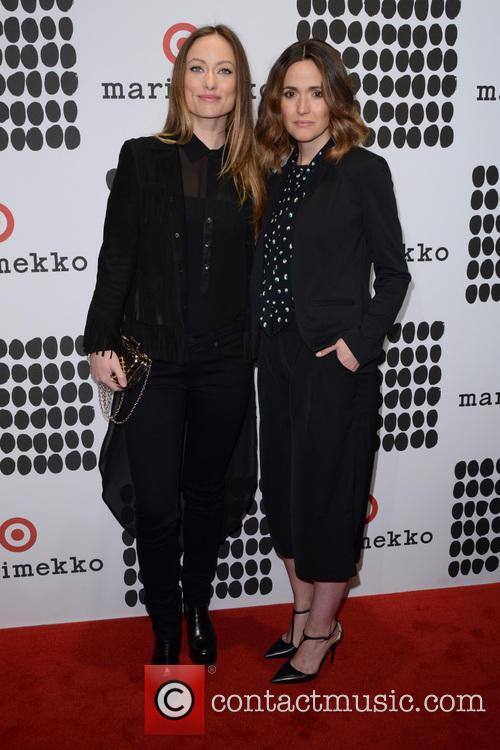 Olivia Wilde and Rose Byrne 1