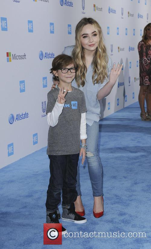 Jacob Tremblay and Sabrina Carpenter 1