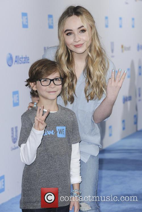 Jacob Tremblay and Sabrina Carpenter 2