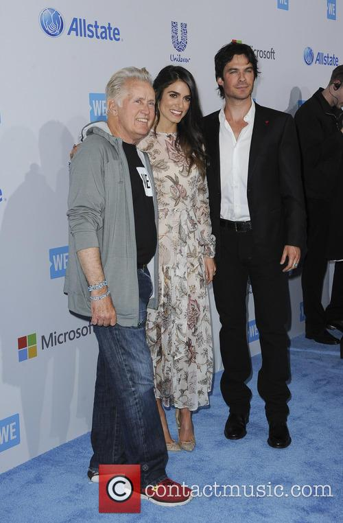 Martin Sheen, Nikki Reed and Ian Somerharder 1