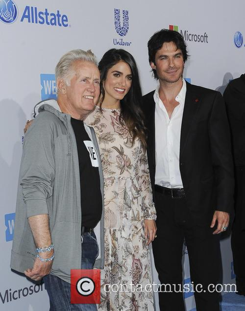 Martin Sheen, Nikki Reed and Ian Somerharder 2