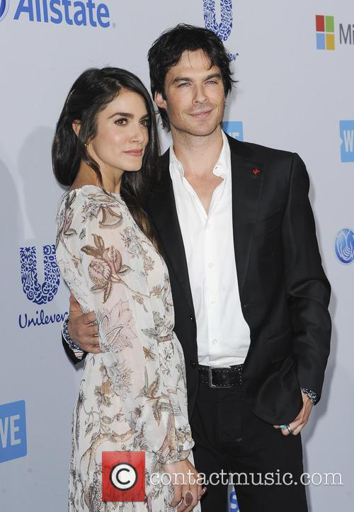 Nikki Reed and Ian Somerharder 1