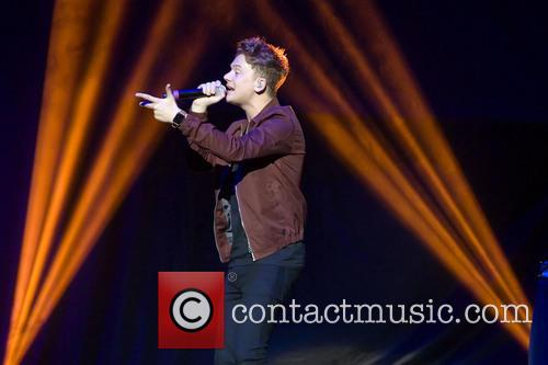 Connor Maynard performs as an opening act for...