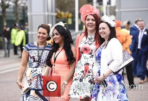 The Grand National Aintree Festival 2016 - Day...
