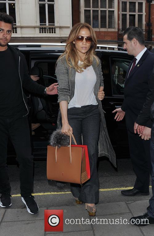Jennifer Lopez, Emme Maribel Muñi and Maximilian David Muñiz 5