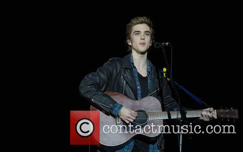 Californian musician Jessarae performs at The O2 Arena...