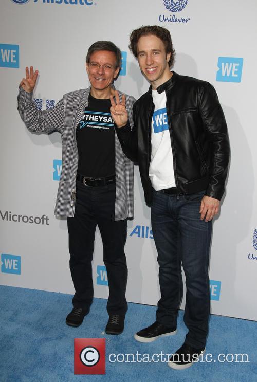 Tom Wilson and Craig Kielburger 1