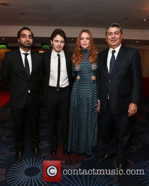 Egor Tarabasov and Lindsay Lohan 1