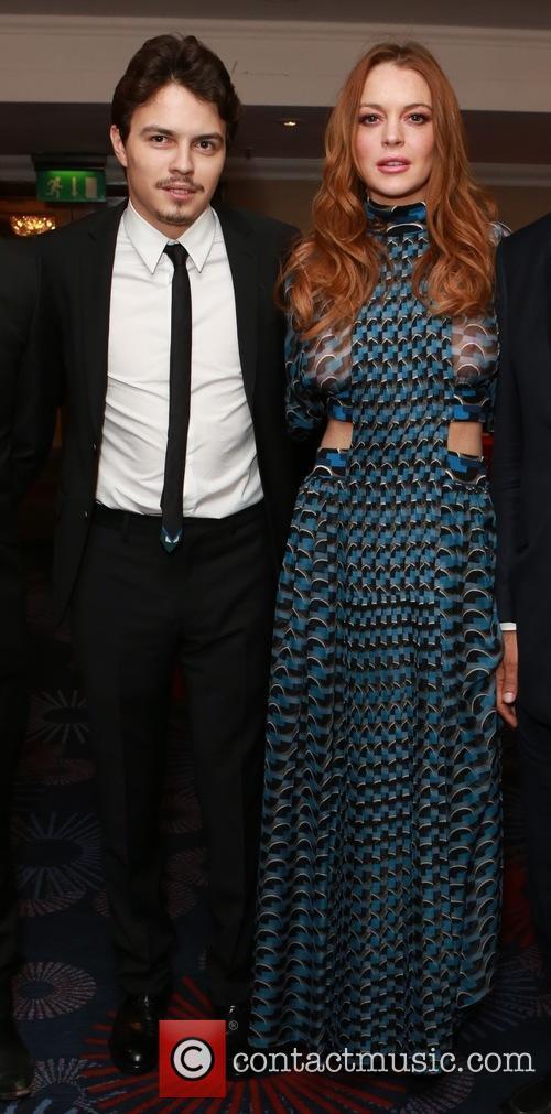 Egor Tarabasov and Lindsay Lohan 3