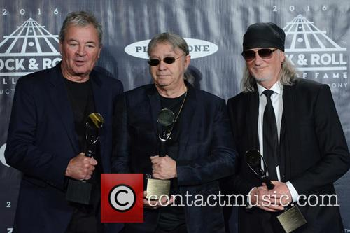 Ian Gillan, Ian Paice and Roger Glover 3