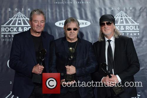 Ian Gillan, Ian Paice and Roger Glover 4